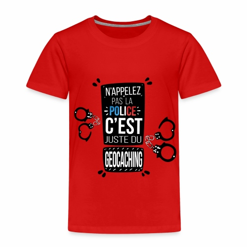 Police Menottes - T-shirt Premium Enfant