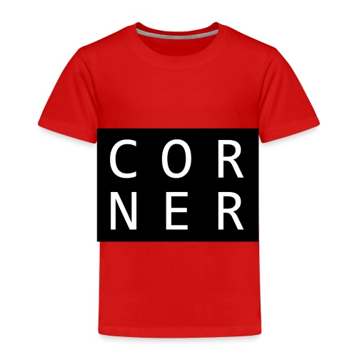 cornerbox - Børne premium T-shirt