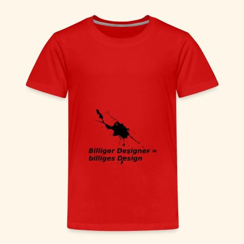 BilligesDesign - Kinder Premium T-Shirt