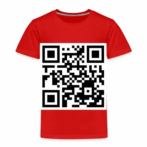 qrcode - Kinder Premium T-Shirt
