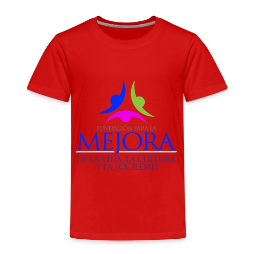 Logo Fundacion Mejora - Camiseta premium niño