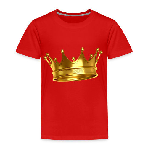 LONE ROYALS CROWN - Kids' Premium T-Shirt