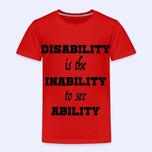 Ability4 - Kinderen Premium T-shirt