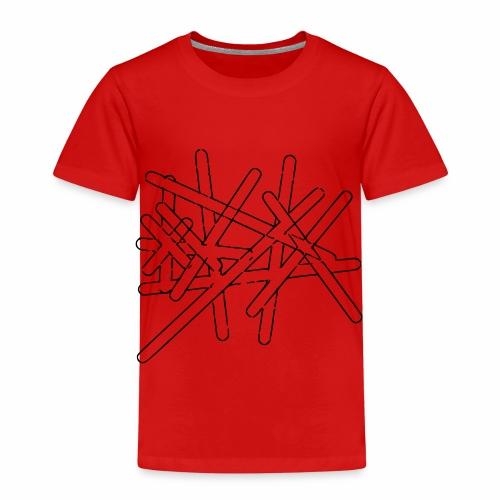 Striche - Kinder Premium T-Shirt