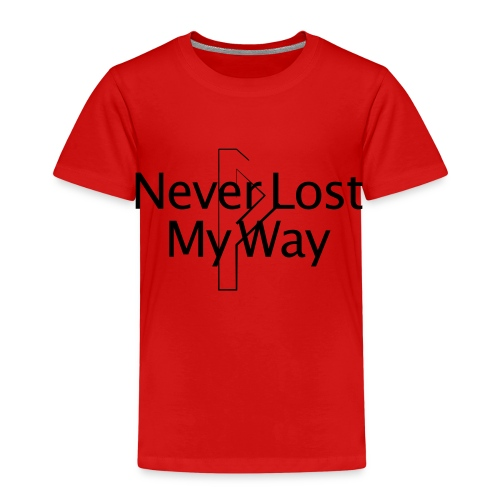 13 Never Lost My Way - Kinder Premium T-Shirt