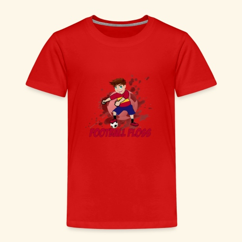 SpainFootballFloss - Kids' Premium T-Shirt