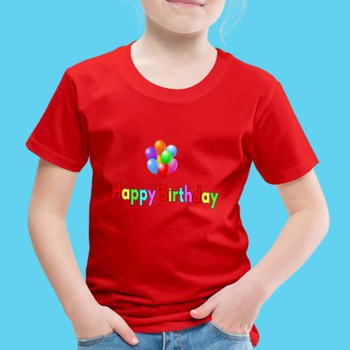 Happy Birthday tolle Geschenk-Idee - Kinder Premium T-Shirt