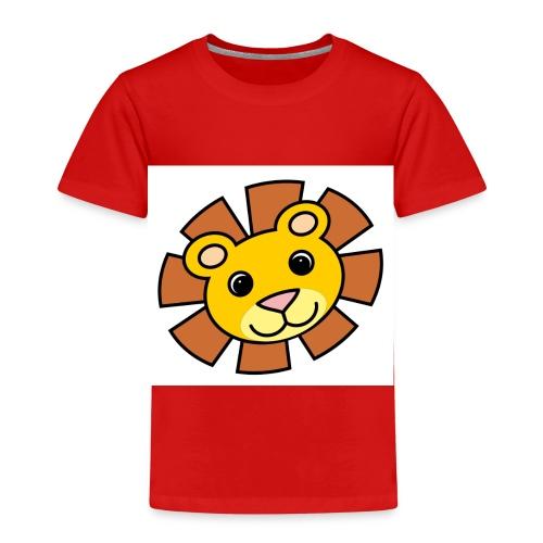 funimals_lejon_f--rg_-2- - Premium-T-shirt barn