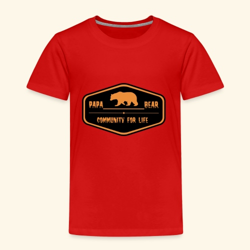 Community Papa - Kinder Premium T-Shirt