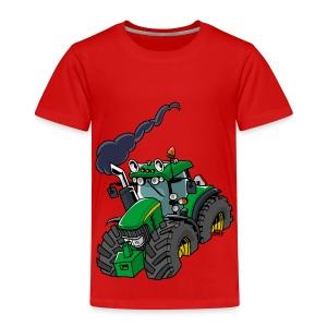 GREEN TRACTOR - Kinderen Premium T-shirt