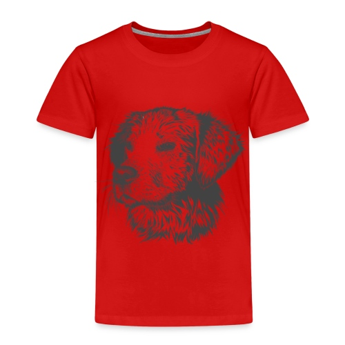 Hund Golen retriever - Kinder Premium T-Shirt