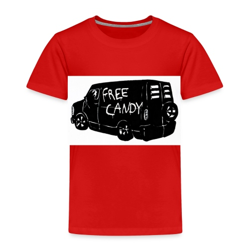 t shirt design free candy - Kinder Premium T-Shirt