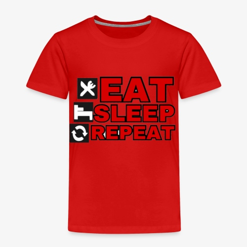 EAT SLEEP REPEAT T-SHIRT GOOD QUALITY. - Kids' Premium T-Shirt