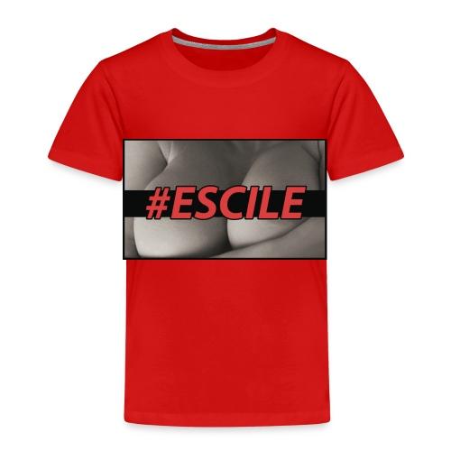 #ESCILEPILLOW - Maglietta Premium per bambini