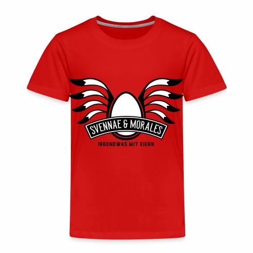 Svennae und Morales - Irgendwas mit Eiern - Kinder Premium T-Shirt