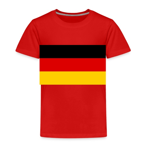 Deutsche flage - Kinder Premium T-Shirt