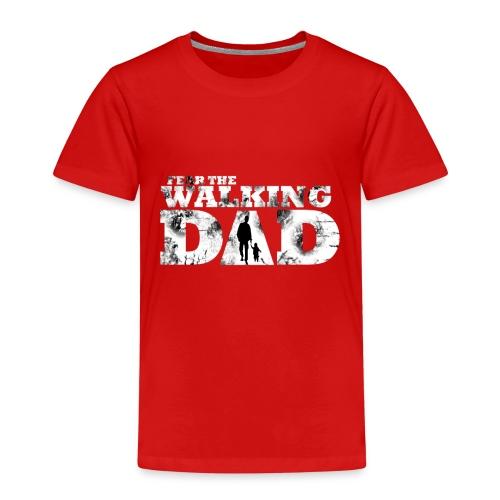 Walking Dad Vater Kind - Kinder Premium T-Shirt