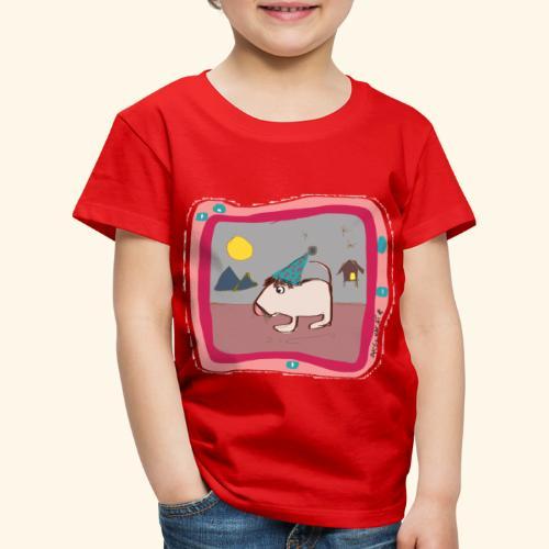 Maus Illustration - Kinder Premium T-Shirt