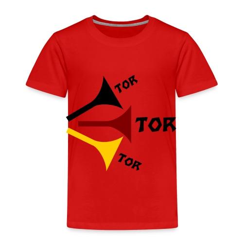 deutsche Vuvuzela - Kinder Premium T-Shirt