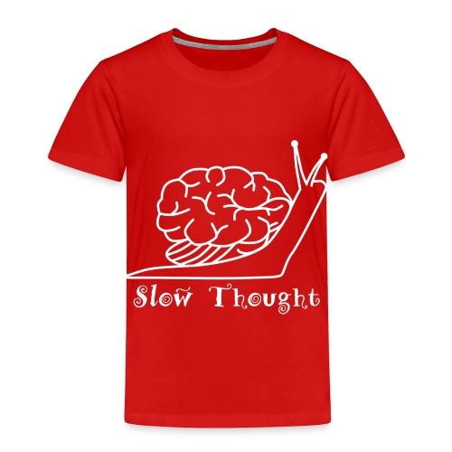 SlowThought (weiß) - Kinder Premium T-Shirt
