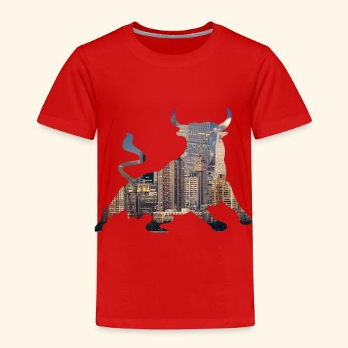 Wall-Street Bulle - Kinder Premium T-Shirt