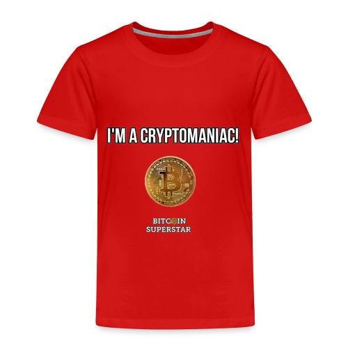 I'm a cryptomaniac - Maglietta Premium per bambini