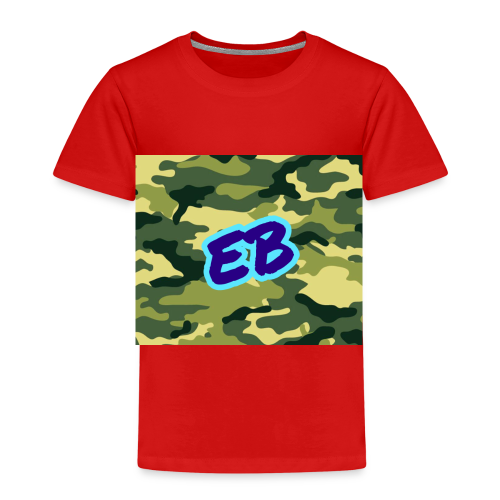 Ellibradyoffical green camo - Kids' Premium T-Shirt