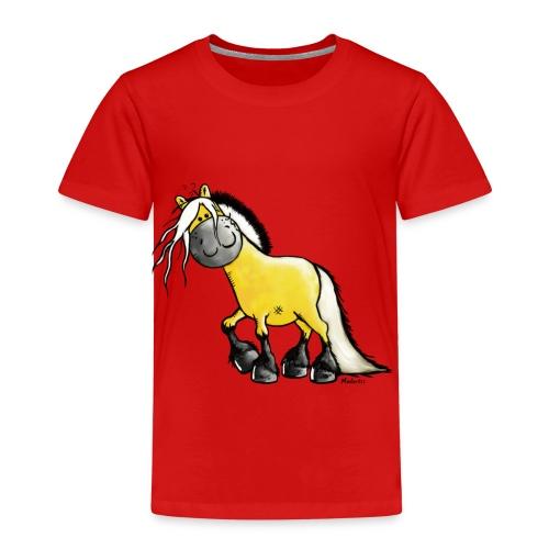 fjord_horse-png - Kids' Premium T-Shirt