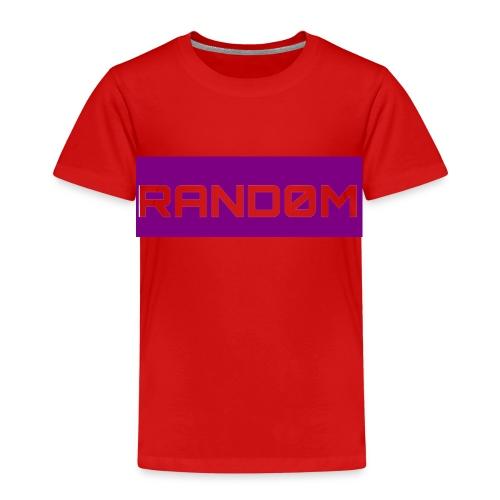 RAND0M SMALL LOGO - Kids' Premium T-Shirt