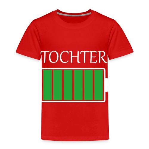 Tochter volle Energie - Kinder Premium T-Shirt
