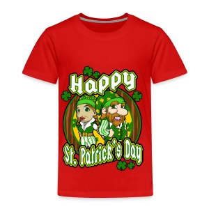 St- Patricks Day couple holiday gift surprise - Kinder Premium T-Shirt