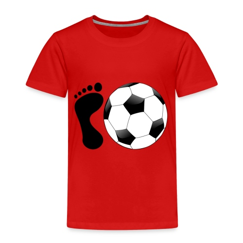 Fußball Bundesliga Sport Ball Spieler Deutschland - Kinder Premium T-Shirt