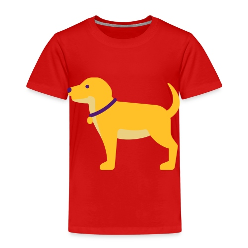 Hund Halsband Süß - Kinder Premium T-Shirt