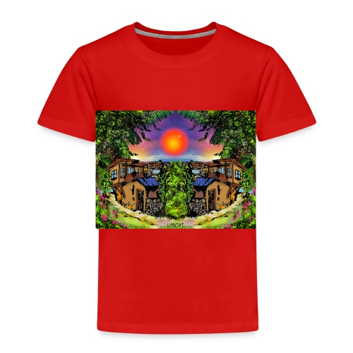 ArtBulgaria Nessebaar Kopi4 - Kinder Premium T-Shirt