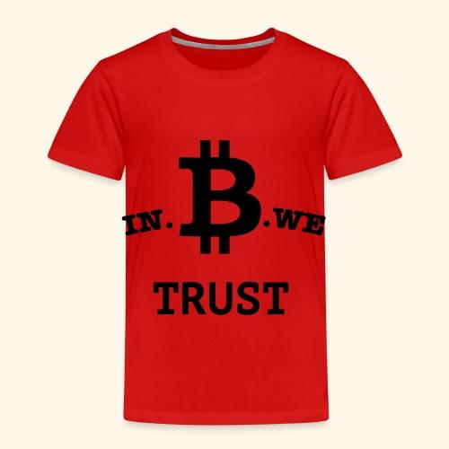 In B we trust - Kinderen Premium T-shirt