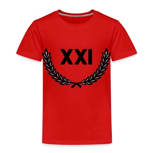 21 Guns - 21 Salutschüsse - XXI moderne Schrift - Kinder Premium T-Shirt