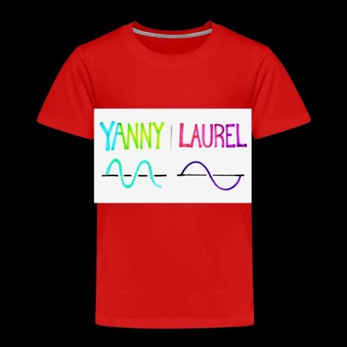 yanny laurel science - Kids' Premium T-Shirt