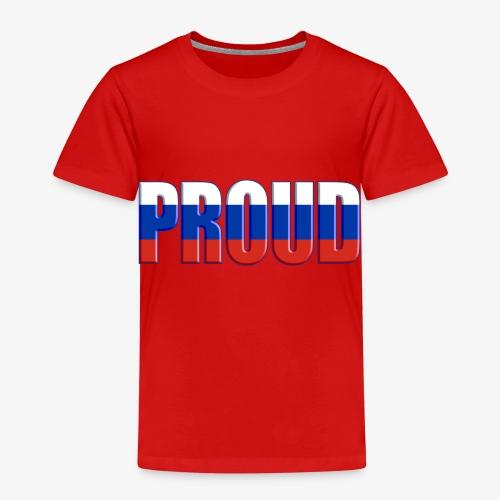BE PROUD Russie - T-shirt Premium Enfant