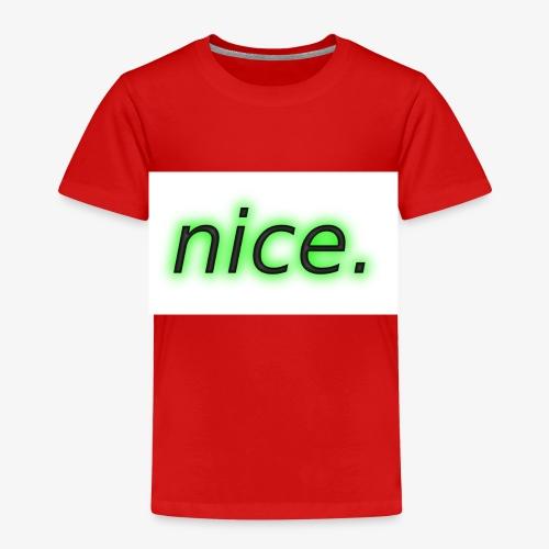 nice. Logo - Kinder Premium T-Shirt