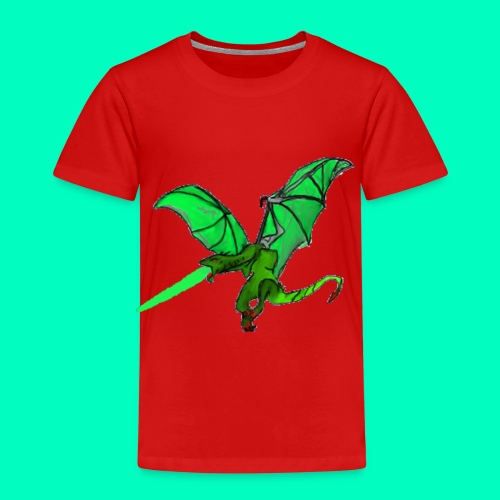 Gift speiender Drache - Kinder Premium T-Shirt