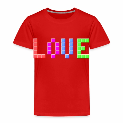 Love Puzzle - Kinder Premium T-Shirt