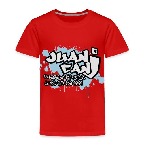 Juan can logo for spreadshirt - Kids' Premium T-Shirt