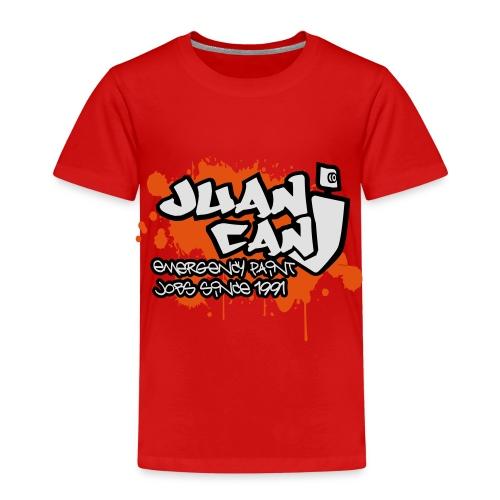 Juan can logo for spreadshirt Orange - Kids' Premium T-Shirt