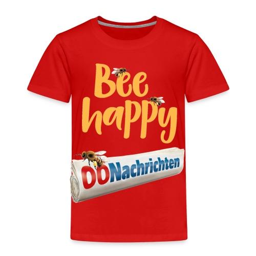 Bee happy Zeitungsrolle - Kinder Premium T-Shirt