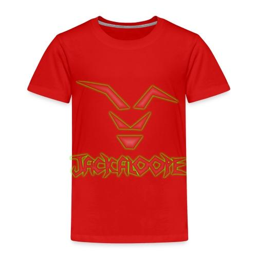 Logo_Schriftzug_alienglow - Kinder Premium T-Shirt
