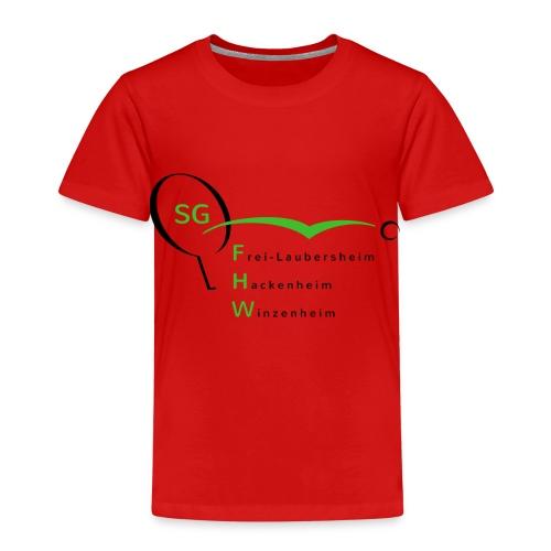 sg fhw 07 2015 final 2000x1149 - Kinder Premium T-Shirt