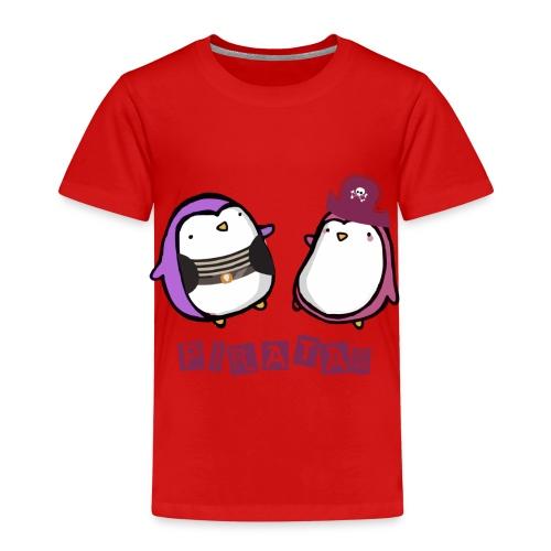 PINGUINOSPIRATAS - Camiseta premium niño