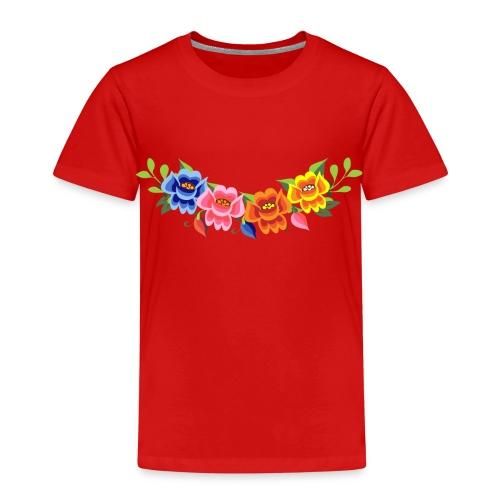 Flores Mexicanas - Camiseta premium niño