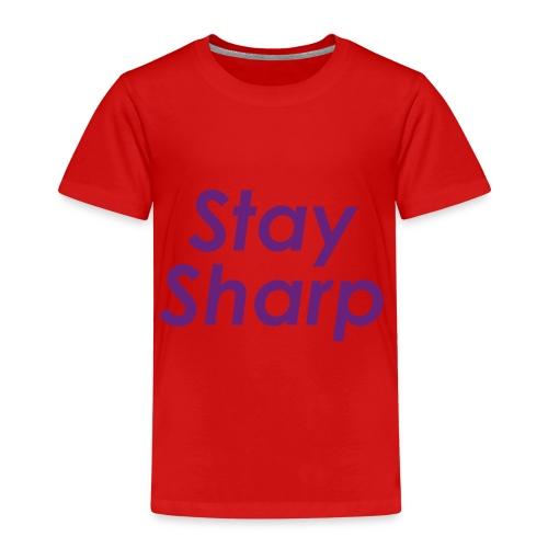Stay Sharp - Maglietta Premium per bambini