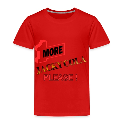 1 MORE Jacky Cola - Kinder Premium T-Shirt